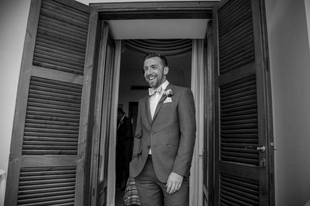 groom's dress for his exclusive wedding in Positano