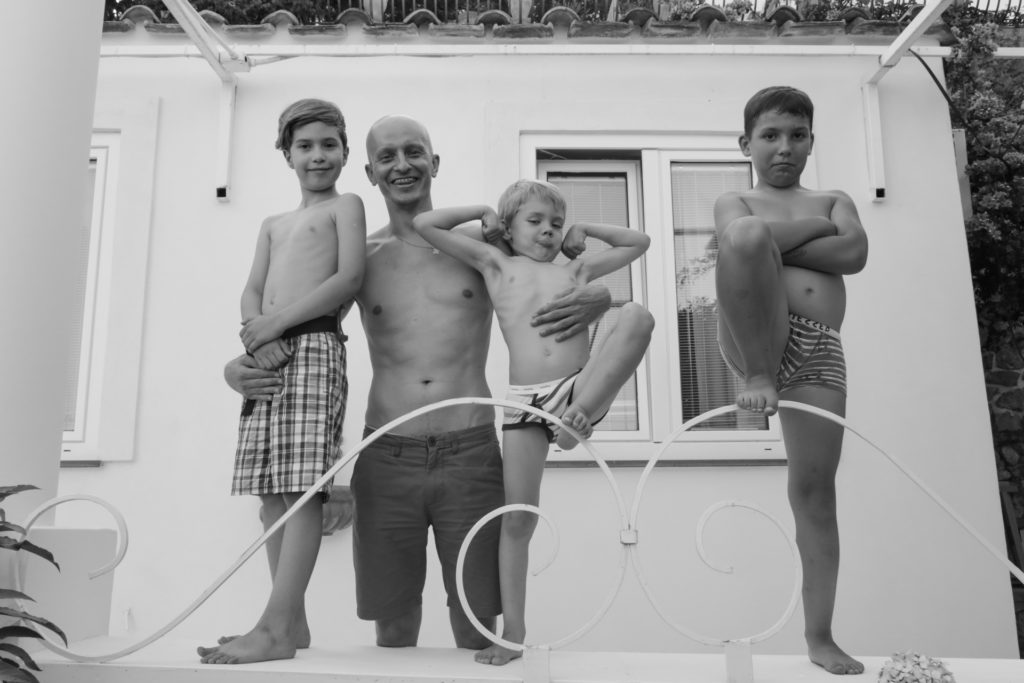 Family Portrait in Praiano, Amalfi Coast
