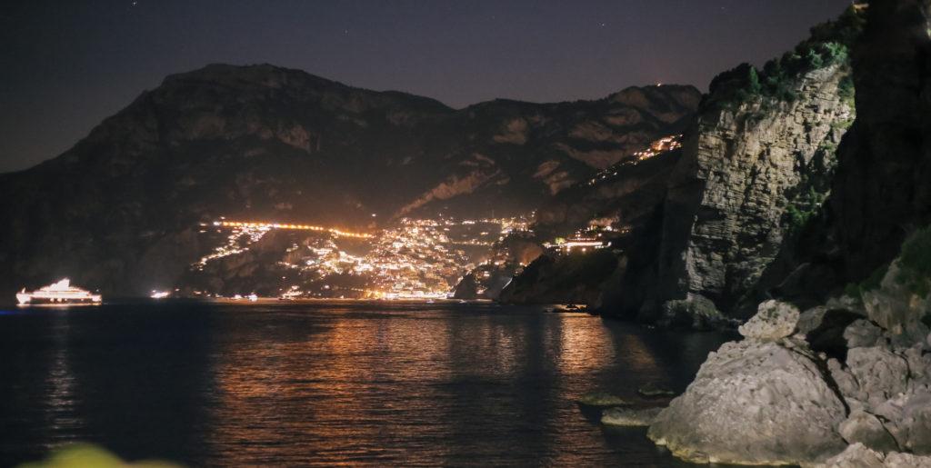 A glimpe of Praiano, Amalfi Coast
