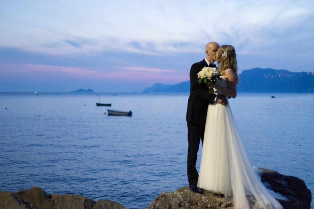 Olga & Evgeny in Praiano, Amalfi Coast