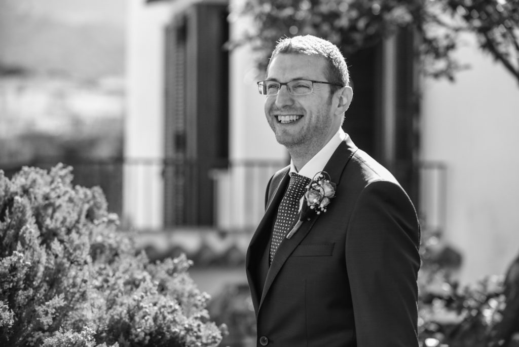 Federico, the groom - A wedding in Cosenza