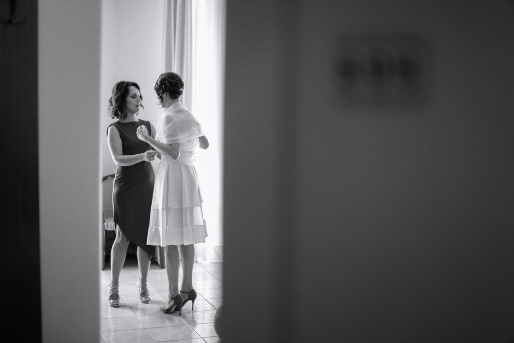 The bridal dress - A wedding in Cosenza