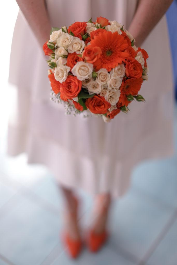 bride's bouquet - A wedding in Cosenza